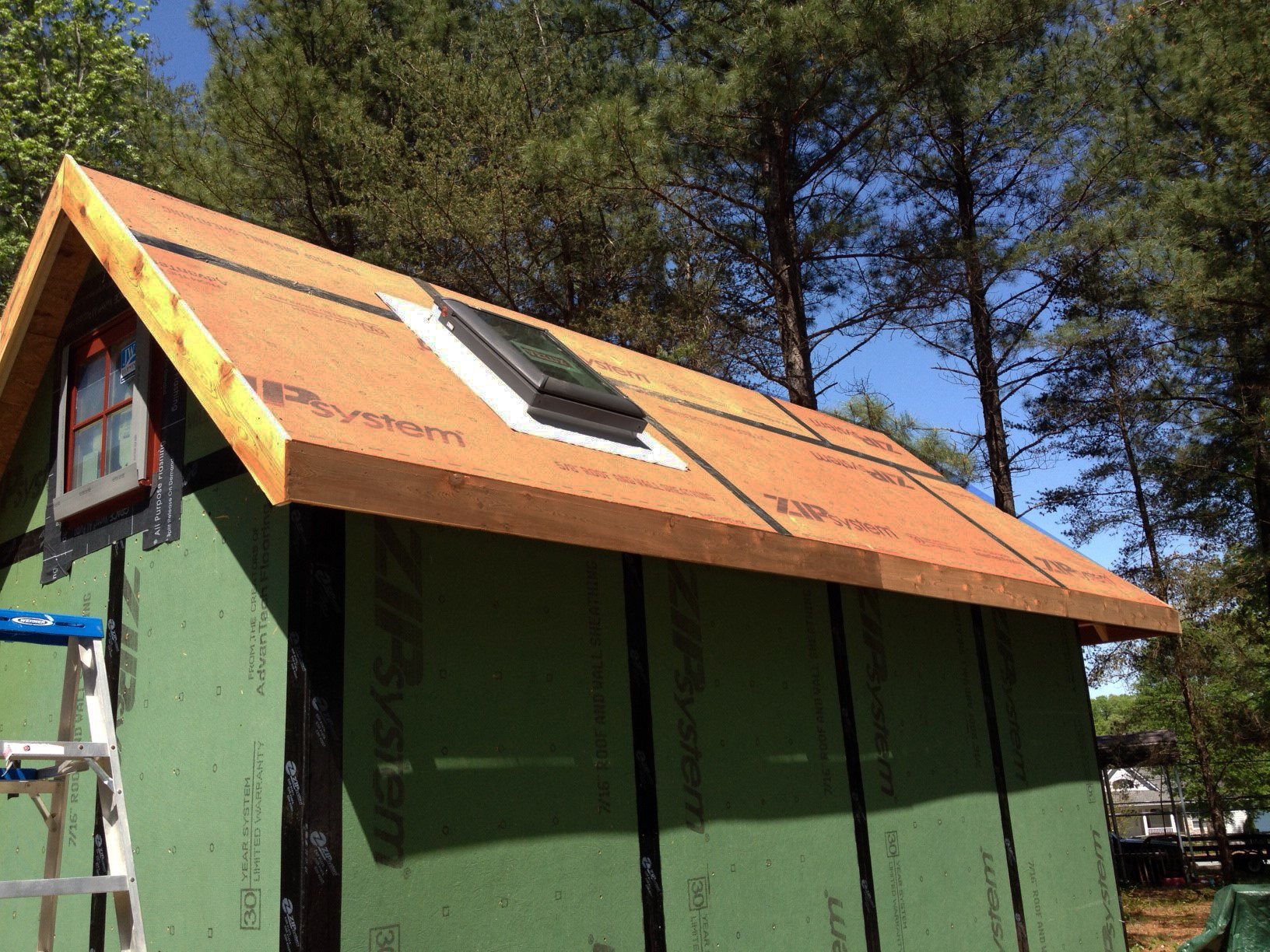 sheathing your tiny home