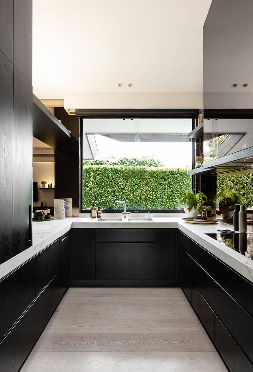 Big kitchen window Cooking With Pleasure: Modern Kitchen Window Ideas