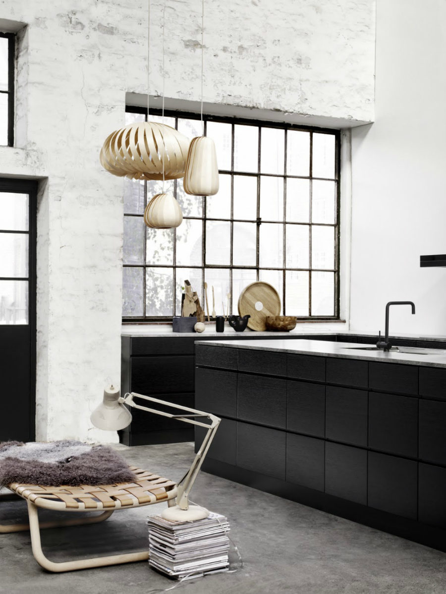 Black framed window 1 900x1199 Cooking With Pleasure: Modern Kitchen Window Ideas