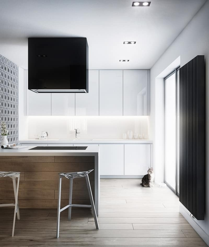 Contemporary kitchen by Cutout Architects