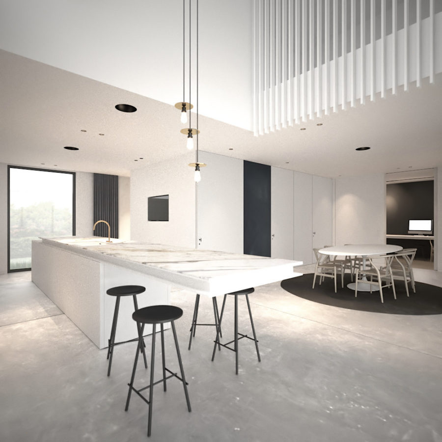 Interior design by AD Office