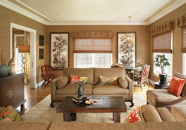 Chinese living room decoration